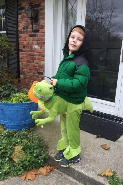 Halloween 2017: Dinosaur Rider