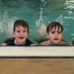 Connor at Stage 1 Swim Class