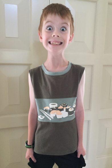 Sushi Muscle Shirt